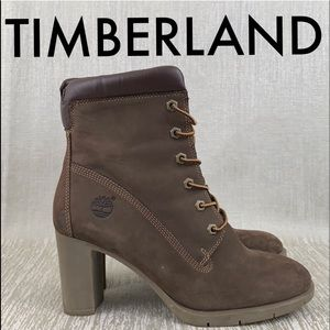 👑 TIMBERLAND HEELED BOOTS 💯AUTHENTIC